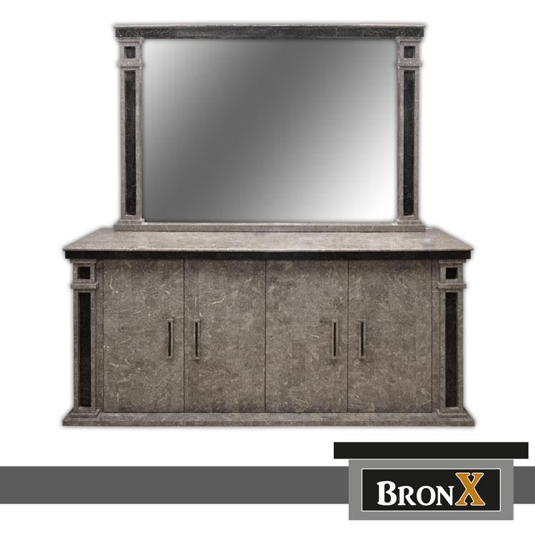 Meubelstijl bronx manhattan style - Dressoir met spiegel ...